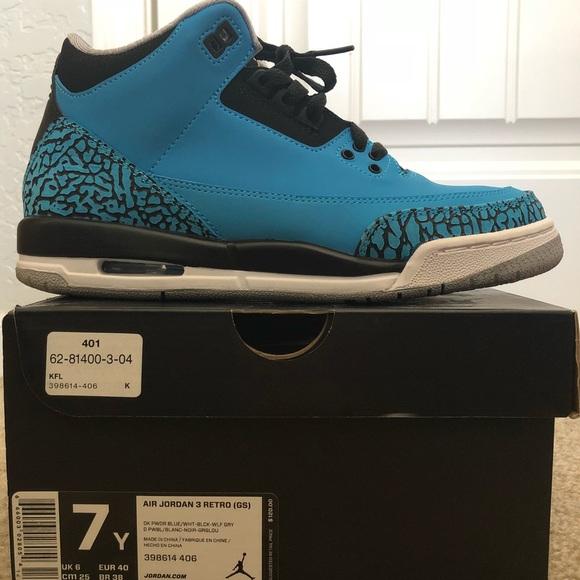 """promo code 7ca37 396eb Jordan Shoes - Air Jordan 3 Retro GS - """"Powder Blue"""""""